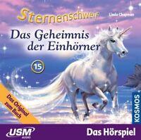 STERNENSCHWEIF - FOLGE 15: DAS GEHEIMNIS DER EINHÖRNER  CD NEU