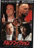 Pulp Fiction 1994 Quentin Tarantino John Travolta Japanese Chirashi Flyer B5