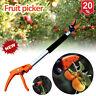 New Long Handle Fruit Picker,Garden Long Reach Tree Pruner,Long Handled Secateur