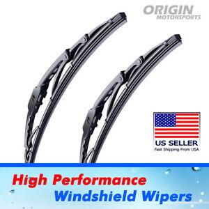 """Front Windshield Wiper Blades for Hummer H3 H3T OEM Kit Set 16"""" + 16"""""""