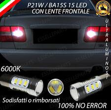 COPPIA LUCI RETROMARCIA 15 LED P21W BA15S CANBUS VOLVO S70 NO ERROR