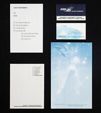 """GENE RODDENBERRY - """"STAR TREK"""" BUSINESS CARDS; MISC. NOTE PAPER COLLECTION"""