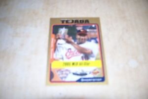 2005 Topps Update Gold #UH179 Miguel Tejada All-Star parallel card–Baltimore Ori