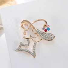 Elegant Fashion Clothing Accessories Shiny Gifts Crystal Jewelry Brooch Pin