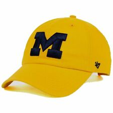 Michigan Wolverines NCAA '47 Brand Franchise L Wordmark Fitted Cap Hat $30
