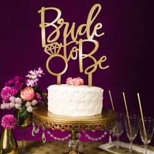 Sweet Bride To be Cake Topper Cupcake Wedding Engagement Bridal Party Decoration