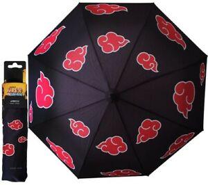 NARUTO SHIPPUDEN - Akatsuki Cloud Umbrella by ABYstyle [New ] One Size Fits Al