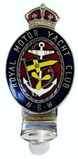 Car Hood Ornament Bonnet Mascot Badge Royal Motor Yacht NSW Club