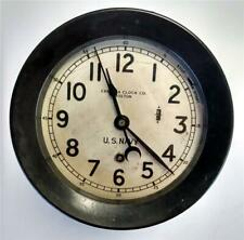 Chelsea Clock - U.S. Navy Zig Zag Course Clock Uss Scribner Navy Transport Ship