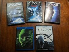 Alien and Aliens Vs Predator DVD and Blu-Ray Lot - Most discs like new