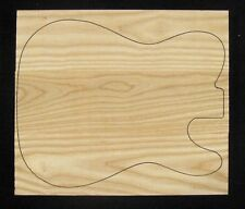 """Guitar body blank, Solid Swamp Ash, 13"""" x 16"""""""" - For Telecaster"""