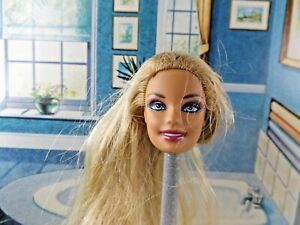 Mattel Barbie Doll Head Replacement 1998. Great For OOAK Art.