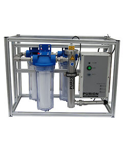 PURION MAX 230V Komplettsystem Autarke Wasseraufbereitung UV Vorfilter