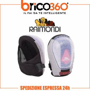 COPPIA DI GINOCCHIERE RAIMONDI IN GEL 138 RELAX PROTEZIONE PIASTRELLISTA RLS