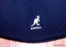 Kangol  Headwear  Knitted  Acrylic  Cuffless  Pull On  Hat  Color  Dark Blue