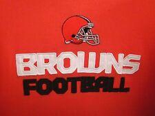 CLEVELAND BROWNS Brady Quinn autograph hoodie youth lrg football sweatshirt