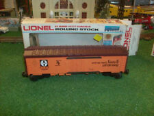 Lionel Trains No. 9880 Famous American Railroad Series Atsf Reefer - Very Nice