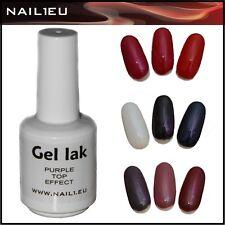 Polish-Gel PURPLE TOP 15ml UV Nagellack Gellack Polish Gel Lack Gel-Lack Nagelge