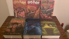 HARRY POTTER Series Books 1-6,  J.K. Rowling (Hardcover)