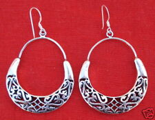 Earring Pair India Traditional Design Sterling Silver
