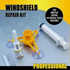 HOT Car Auto Windshield Windscreen Instrument Repair Kit DIY Glass Repair Tool