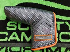 Scotty Cameron 2014 Gray/Bright Orange Scotty Dog Putter head cover Headcover