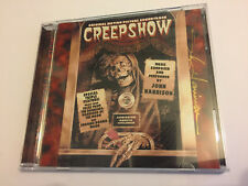 Signed! Autographed! CREEPSHOW (John Harrison) OOP Score OST Soundtrack CD NM