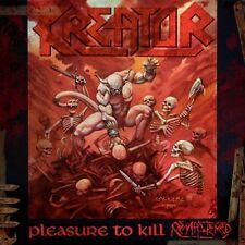 Kreator - Pleasure To Kill 2 x LP + FLAG OF HATE - THRASH METAL CLASSIC - SEALED