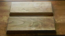 12 x 4 x 3/4 floating shelves, handmade from kiln dried cherry wood, set of two