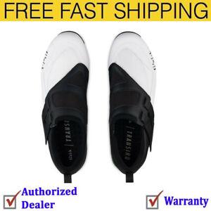 Fizik Powerstrap R4 Unisex Adult Triathlon Shoes White/Black, 40