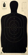 "Official NRA B-27 silhouette targets 23"" x 45"" (25 targets)"