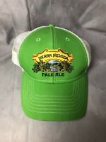 SIERRA NEVADA Pale Ale Trucker Hat Cap Green White Snapback Beer Brewing 5525