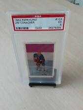 1952 Parkhurst Hockey #103 Jim Conacher N.Y. Rangers Center PSA Graded EX *5*!