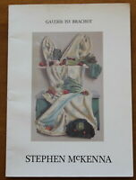 Stephen Mc KENNA - Catalogue illustré - Galerie Isy Brachot - 1983