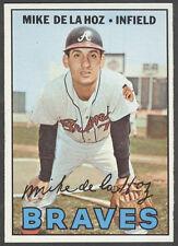 1967 TOPPS #372 MIKE De La HOZ Atlanta Braves  NM-MT
