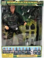 "World Peacekeepers Anti Tank Team 12"" Fully Pose-Able Action Figure Power Team"