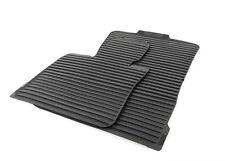 BMW OEM Black All Weather Floor Mats SET 2007-2013 E70 X5 3.0si 35iX 51472231953