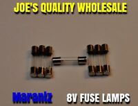 (7)FUSE TYPE LAMPS 8v 200mA/250mA/VINTAGE RECEIVER 2230 DIAL 2270 METER Marantz