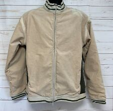 Comme des Garcons Shirt Mens Medium Beige Jacket Made In FRANCE Spell Out