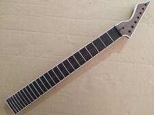 Unfinished  24 Fret Guitar Neck   Rosewood fingerboard for 7 string 25.5 inch