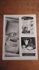 PUBLICITE ANCIENNE PUB ADVERT CLIPPING - PARFUM BALANCIAGA (REALITES 1953)