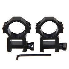 "2 pcs 25.4mm 1 Inch 1"" Ring Scope Weaver Rail Mount 20mm picatinny"