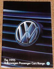 1995 VW RANGE Sales Brochure inc Caravelle Golf GTI VR6 Corrado Polo Passat