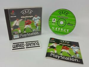 UEFA Challenge - PS1 (Sony Playstation 1) Complete (PAL) Black Label