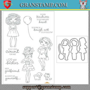HEY GIRLFRIEND Metal Cutting Dies and Stamps (Price include STAMP and DIE)