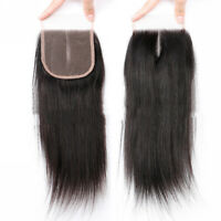 10X14CM Straight Unprocessed Virgin Hair Lace Top Closure For Making Wig Cap