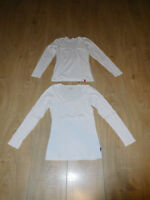 2 x Damen Langarmsweater Gr. M (38) Weiß edc by Esprit Only Pullover Basic Pulli