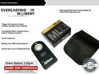 ML L3 WIRELESS REMOTE CONTROL in BOX FOR NIKON D7000 D3000 D5000 D90 D80 D70S