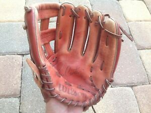 Vintage Wilson Fieldmaster Joe Carter Leather Baseball Glove RHT #A2631 WOW!!!
