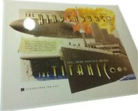TITANIC & HINDENBURG RELICS coal wood rusticle fabric duralumin envelope PIECES